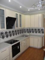 Кухня радиусные фасады