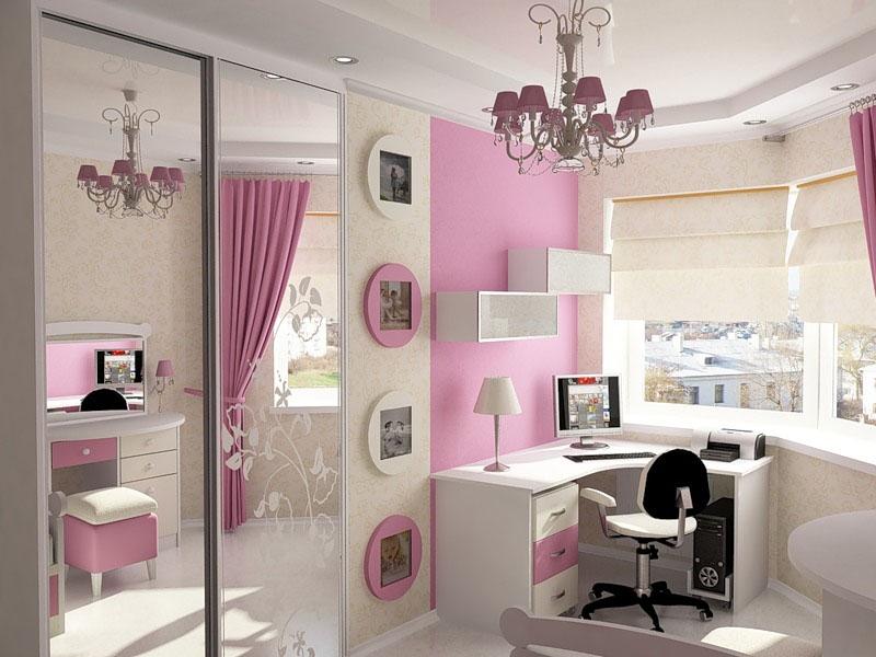 девушки 12-18 лет - Дизайн интерьера детской комнаты