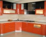 радиусная кухня-оранж